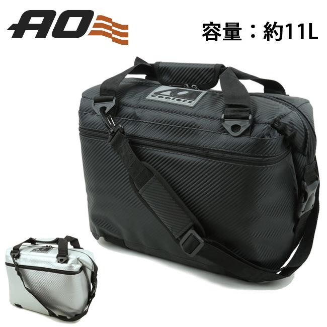 AO Coolers エーオー クーラーズ 12パック カーボン ソフトクーラー AOCR12 【クーラーボックス/クーラーバッグ/アウトドア/キャンプ/保冷】