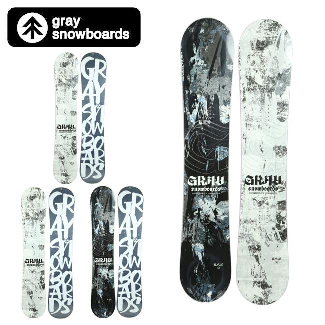 【スマホエントリで+P10倍!31日09:59迄】2020 GRAY SNOWBOARDS グレイ スノーボード R.P.M.Men 【2020/日本正規品/メンズ/スノー】