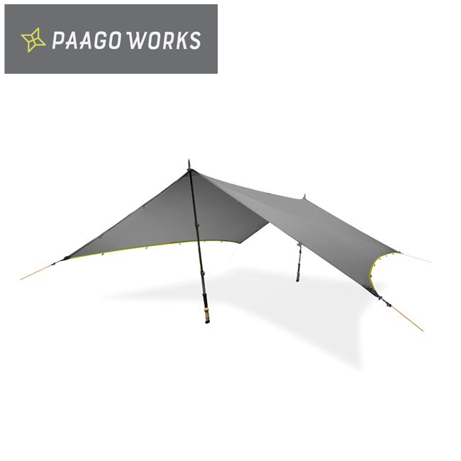 PaaGo WORKS パーゴワークス NINJA TARP ニンジャタープ ダークグレー CT001DGR 【キャンプ/日除け/アウトドア】