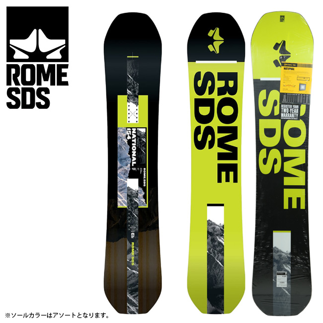 2020 ROME ローム NATIONAL ナショナル 【2020/スノーボード/メンズ/日本正規品】