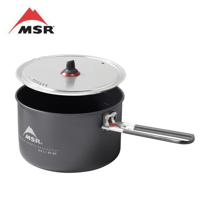 MSR エムエスアール セラミック2.5Lポット 39011 【鍋/調理/キャンプ/アウトドア】