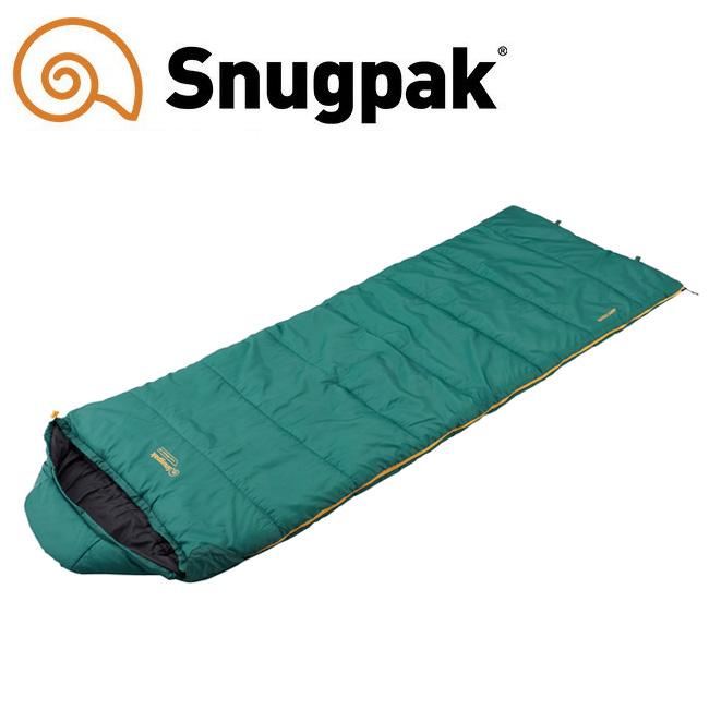 Snugpack スナグパック スリーパーエクストリーム スクエア ライトジップ SP50320DGR 【寝袋/シュラフ/秋冬シーズン/キャンプ/アウトドア】