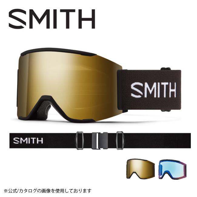 【日本正規品/アジアンフィット/スノーボード/スペアレンズ】 SMITH Squad MAG 010270052 Mirror CP Gold Sun Black スミス Black 【12/1限定★先着200名★1,000円OFFクーポン配布】2021 OPTICS