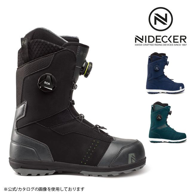 ブーツ 爆買いセール 20-21 2020 2021 NIDECKER ナイデッカー 迅速な対応で商品をお届け致します TRITON FLOW スノーボード ボア boa トリトン 日本正規品 メンズ