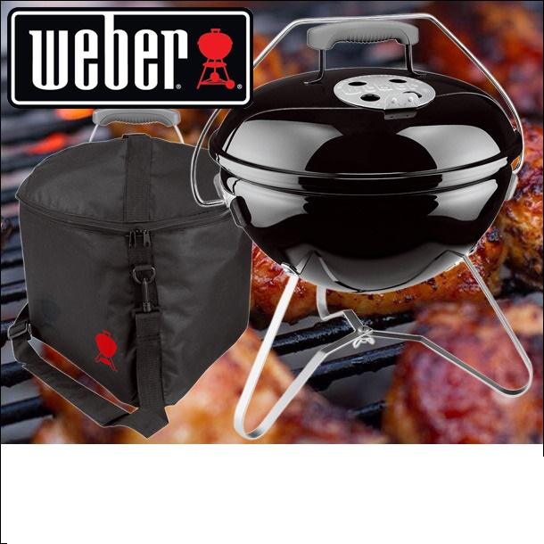 【返品送料無料】 Weber ウェーバー ウェーバー スモーキージョープレミアムグリル 37cm Weber と専用キャリーバッグのセット 1121008 37cm 日本正規品, シルバーアクセサリーBabySies:89118cbb --- supercanaltv.zonalivresh.dominiotemporario.com