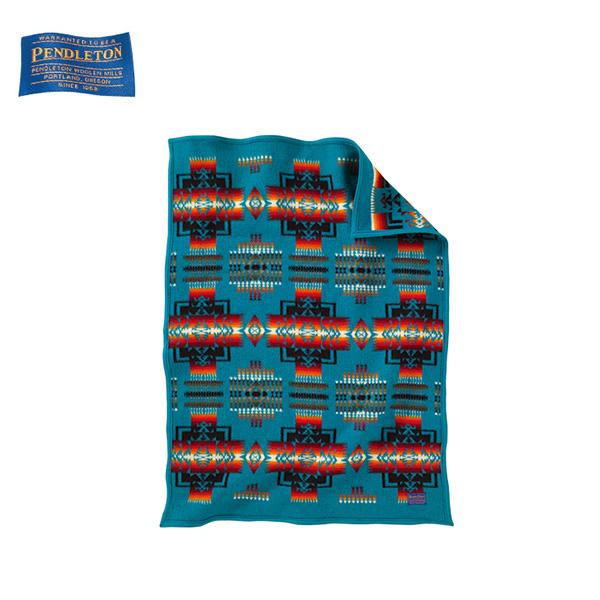 ペンドルトン PENDLETON ブランケット チーフジョセフクリフブランケット/ターコイズ 19373097