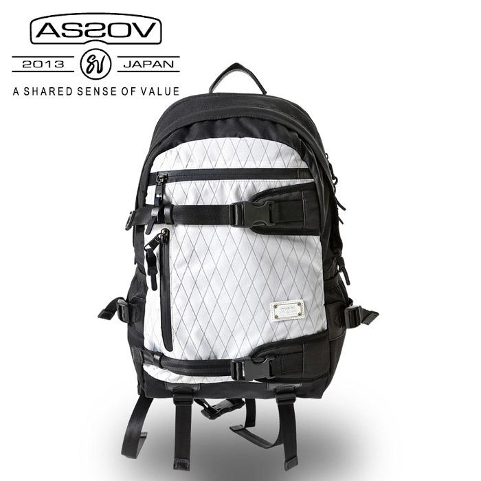 AS2OV アッソブ デイパックX-PAC × CORDURA DOBBY 305D DAY BAG /061407-x-10 【カバン】日本正規品