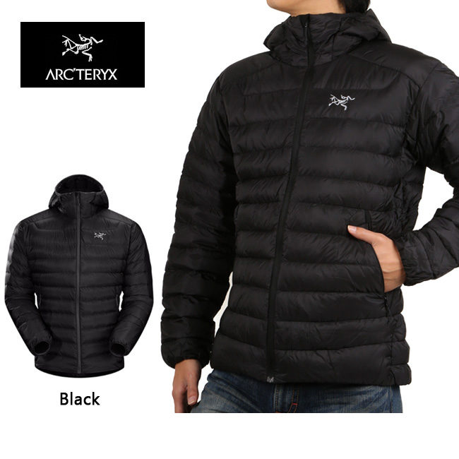 ARCTERYX アークテリクス アウター Cerium LT Hoody Black 18013