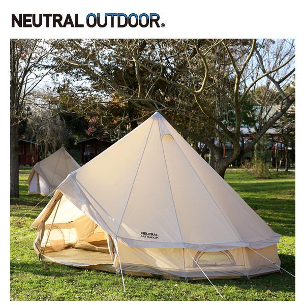 NEUTRAL OUTDOOR ニュートラルアウトドア GE テント2.5m NT-TE01 【NTO-TENT】