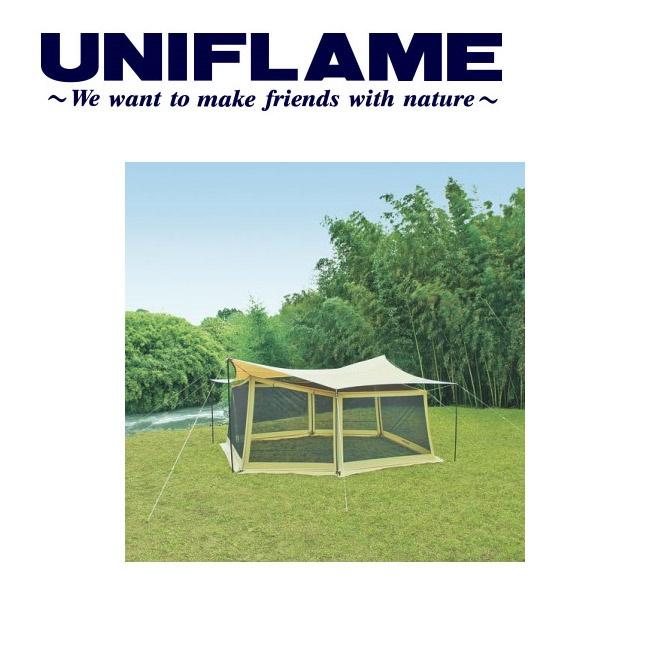 ユニフレーム UNIFLAME タープアクセサリー REVOメッシュウォール Lサイズ 681664 【TENTARP】【TZAK】【UNI-TENT】