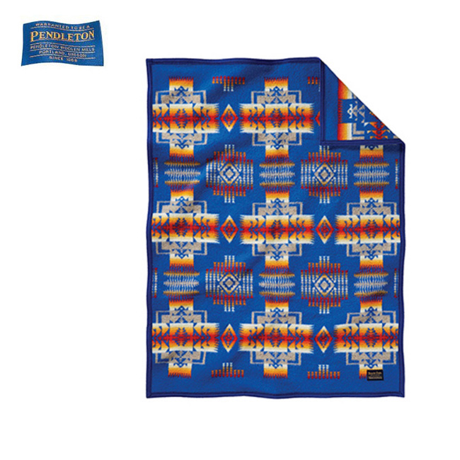 ペンドルトン PENDLETON チーフジョセフクリフブランケット ZD632 /19373097 ブルー(51164) 【雑貨】 ブランケット 毛布 ひざ掛け ウール素材