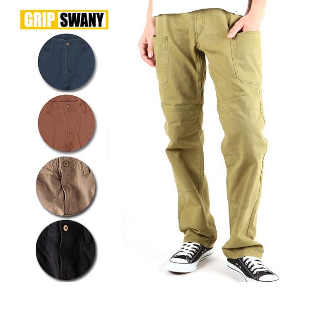 GRIP SWANY/グリップスワニー ワークパンツ GSP-15 【服】 パンツ ボトムス ロングパンツ アウトドア キャンプ カジュアル