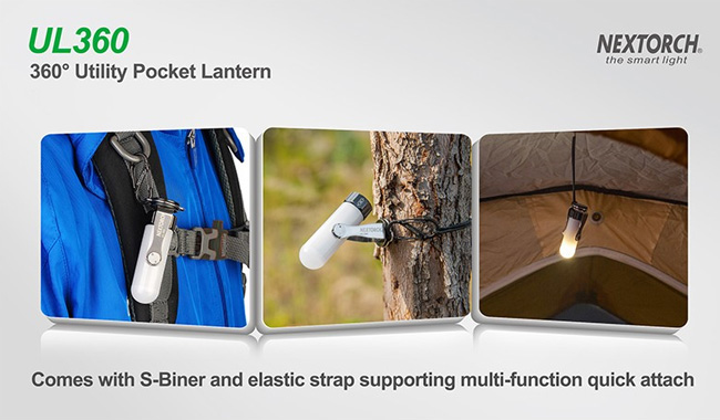 NEXTORCH ネクストーチ UL360 ポケットランタン UL360 ライト 懐中電灯 ポケットランタン アウトドア