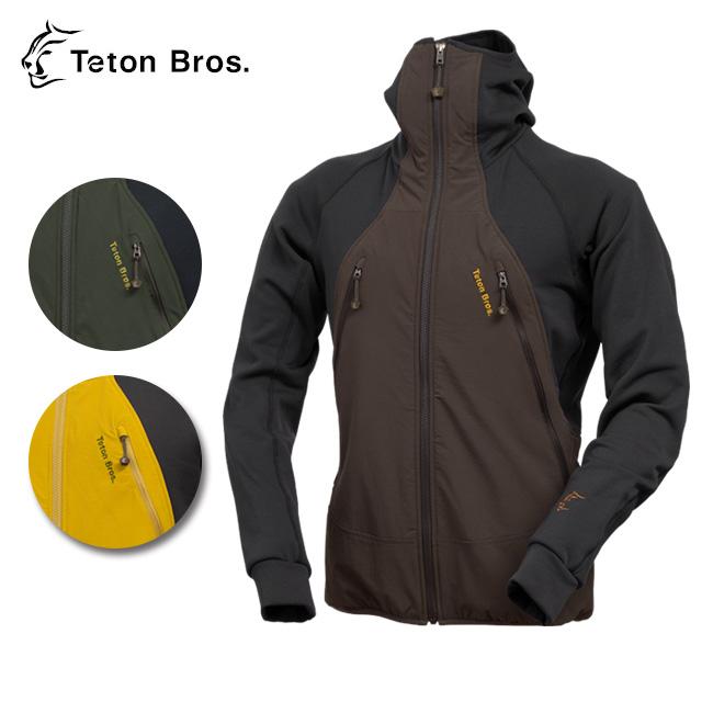 【スマホエントリでP10倍確定!12日 10時~】Teton Bros/ティートンブロス Cocoon Hoody TB163-110 【服】 ジャケット アウター 防寒 暖か 保温性 通気性