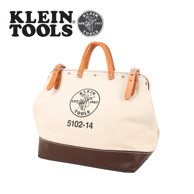 KLEIN TOOLS クラインツールズ Canvas Tool Bag 5102-14 Natural 【カバン】ツールバック キャンバス