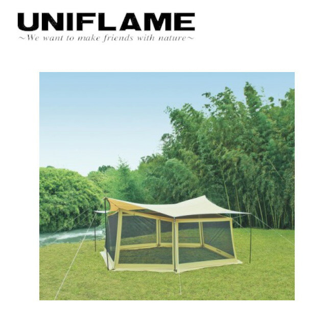 ユニフレーム UNIFLAME REVOタープ Lとメッシュウォールのセット 681688 【TENTARP】【TARP】 タープ アウトドア キャンプ