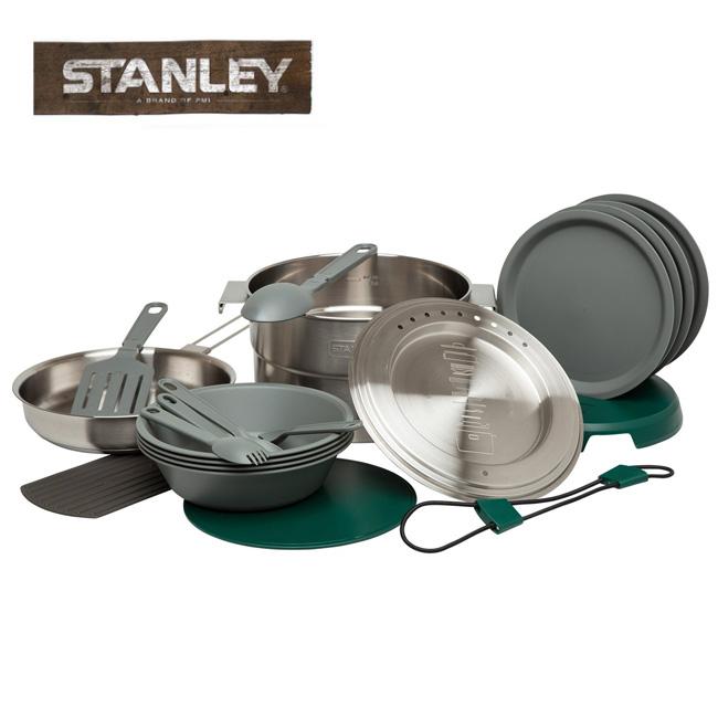 STANLEY/スタンレー 調理セット ベースキャンプクックセット シルバー 02479-004 【雑貨】日本正規品 ステンレス/長持ち/クラシック