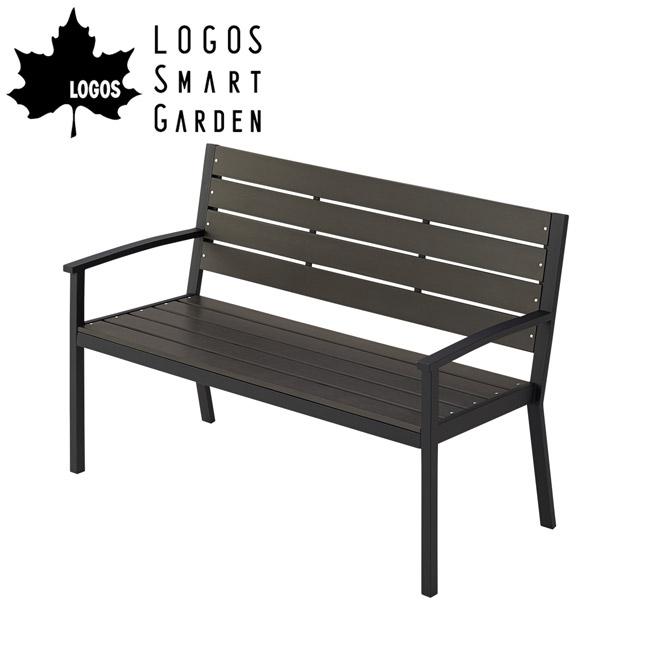 【メーカーお取り寄せ】【代引き不可】ロゴス LOGOS LOGOS Smart Garden モノウッドベンチ 73200011 【LG-FUNI】
