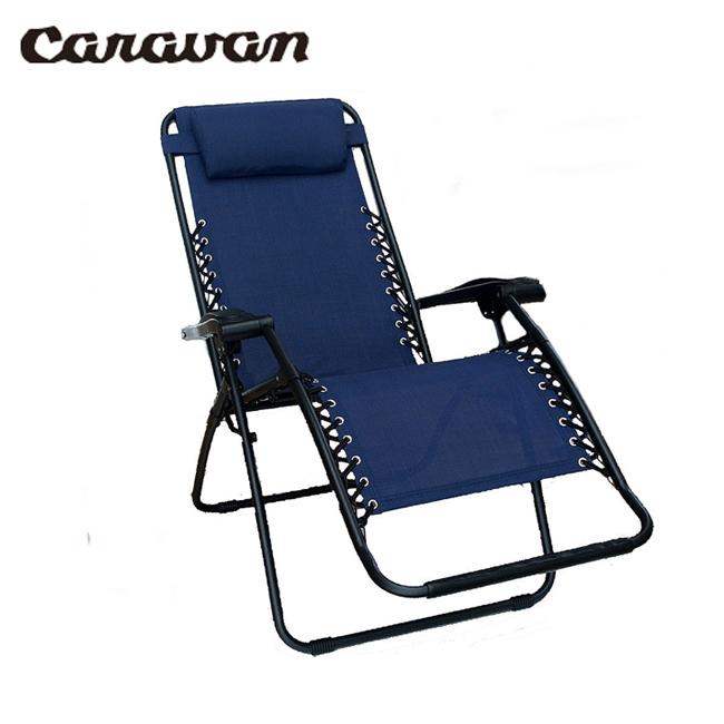 CARAVAN キャラバン Infinity Zero アウトドア キャンプ Gravity CARAVAN Chair CA-1122/BLUE【FUNI】【CHER】 チェア 椅子 アウトドア キャンプ 運動会, IT Collection's:5f31a969 --- jpworks.be