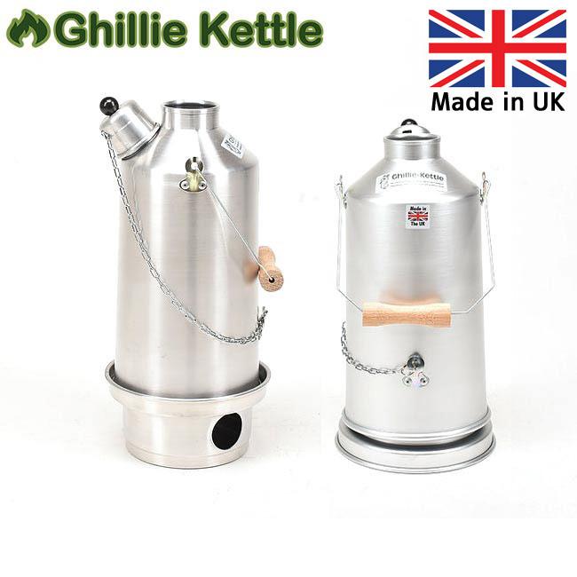 Ghillie Kettle ギリーケトル ADVENTURER 1.5L ALUMINIUM (AL) 3215002 【BBQ】【GLIL】キャンプ アウトドア ボイラー