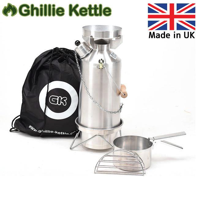 Ghillie Kettle ギリーケトル ADVENTURER 1.5L フルキット ALUMINIUM (AL) 3215001 【BBQ】【GLIL】キャンプ アウトドア ボイラー