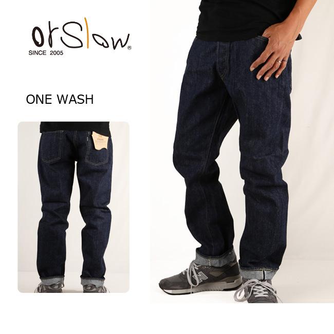 Orslow オアスロウ パンツ STANDARD DENIM 5POCKET 01-1050 ONE WASH【服】メンズ ジーンズ デニムパンツ