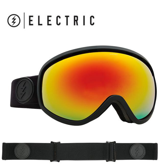 2018 ELECTRIC エレクトリック MASHER MATTE BLACK BROSE/RED CHROME CONTRAST EG7217100 【ゴーグル】アジアンフィット