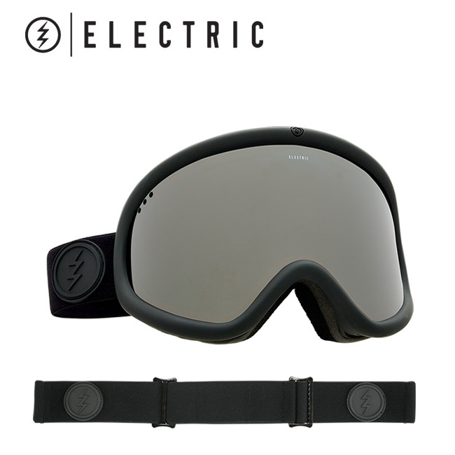 2018 ELECTRIC エレクトリック CHARGER XL MATTE BLACK BROSE/SILVER CHROME CONTRAST EG7317100 【ゴーグル】アジアンフィット