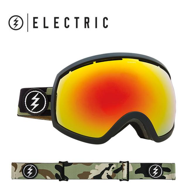 2018 ELECTRIC エレクトリック EG2 CAMO BROSE/RED CHROME CONTRAST EG5517304 【ゴーグル】アジアンフィット