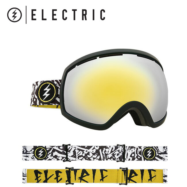 2018 ELECTRIC エレクトリック EG2 BONES BROSE/GOLD CHROME CONTRAST EG5517301 【ゴーグル】アジアンフィット