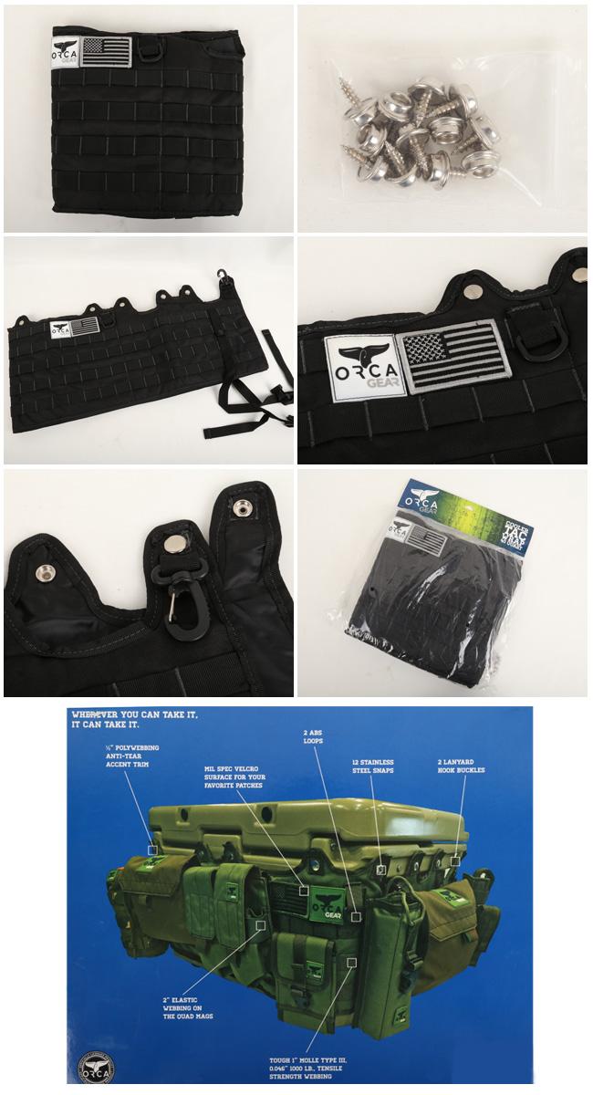 ORCA オルカ  カスタマイズホルダー 40 Quart Molle Wrap クーラーBOX グッズ バーベキュー アウトドア