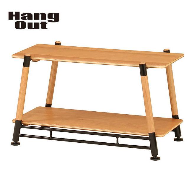 Hang Out ハングアウト ラック Pole Field Rack POL-FR2 【FUNI】【TABL】アウトドア キャンプ コンパクト おしゃれ 室内 二段