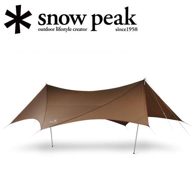 スノーピーク (snow peak) HDタープ シールド ヘキサエヴォ Pro. HD-Tarp Shield Hexa Evo Pro. TP-250R 【SP-TARP】【TENTARP】【TARP】タープ 日よけ アウトドア キャンプ イベント 運動会