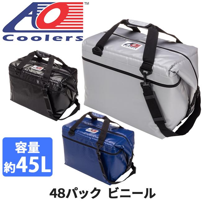 AO Coolers エーオー クーラーズ クーラーバック 48パックビニール AOFI48BK/RB/SL 【ZAKK】クーラーボックス 保冷バック アウトドア キャンプ