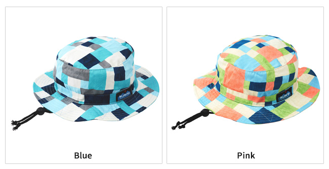 KAVU/カブー ハット Kids Check Bucket Hat キッズ チェックバケットハット  19820860