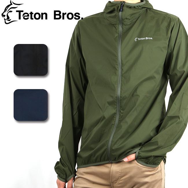 Teton Bros/ティートンブロス パーカー Wind River Hoody TB181-180 【服】 ジャケット ナイロンパーカー ポケッタブル 軽量 薄手 アウトドア