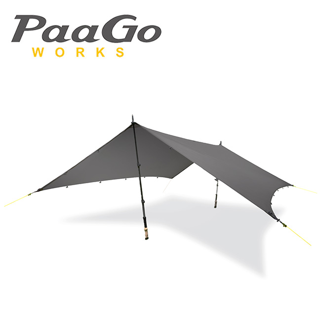 【スマホエントリでP10倍確定!12日 10時~】PaaGo WORKS パーゴワークス タープ ニンジャタープ NJ-01-DG/CT801DGR 【TENTARP】【TARP】日よけ アウトドア イベント キャンプ