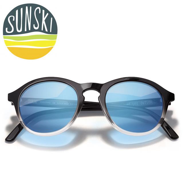 【エントリーで更にP10倍!2020年1月1日0時~】SUNSKI サンスキ サングラス シングルフィン/Singlefin SUN-SF-BAQ 【雑貨】【サングラス】偏光レンズ