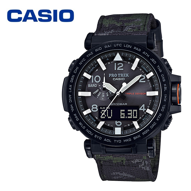 CASIO カシオ PRO TREK PRG-650YBE-3JR 【時計/腕時計/アウトドア/シンプル/タフソーラー】