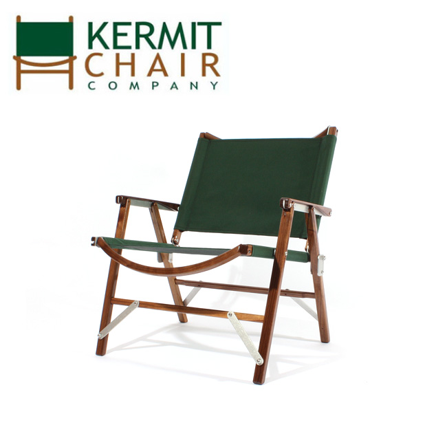 【スマホエントリでP10倍確定!12日 10時~】【日本正規品】kermit chair カーミットチェアー Kermit Chair WALNUT FOREST GREEN KCC-301 【椅子/チェア/軽量/広葉樹/アルミニウム/ハンドメイド】