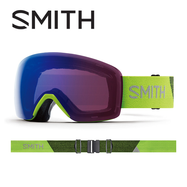 2019 スミス SMITH OPTICS Skyline Flash CP Photochromic Rose Flash 【2019/アーリーモデル/EARLY GOGGLE/日本正規品/アジアンフィット】