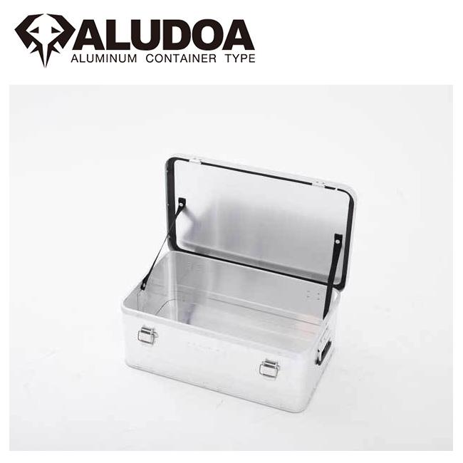 ALUDOA アルドア ALUDOA Standard アルドア スタンダード (M) 3003 【コンテナボックス/アルミ/アウトドア/キャンプ/軽量/ローテーブル】