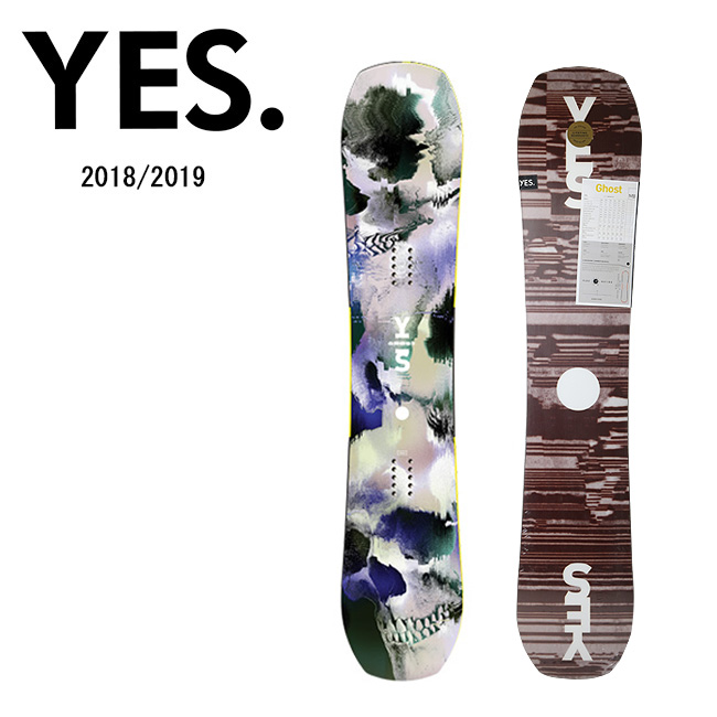 2019 YES. イエス GHOST 【板/スノーボード/日本正規品】