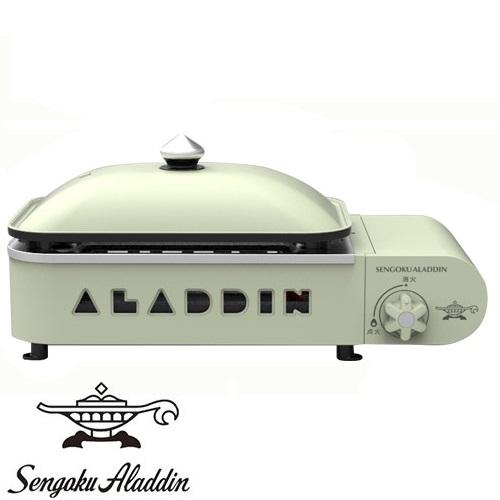 "Sengoku Aladdin センゴク ポータブル アラジン Aladdin Portable Gas Pan"" Hot Plate""Petit Pan"" ポータブル ガス ホットプレート プチパン SAG-RS21(G)【アウトドア/キャンプ/ホットプレート/カセットボンベ】, kaminorth:d52c5406 --- sunward.msk.ru"