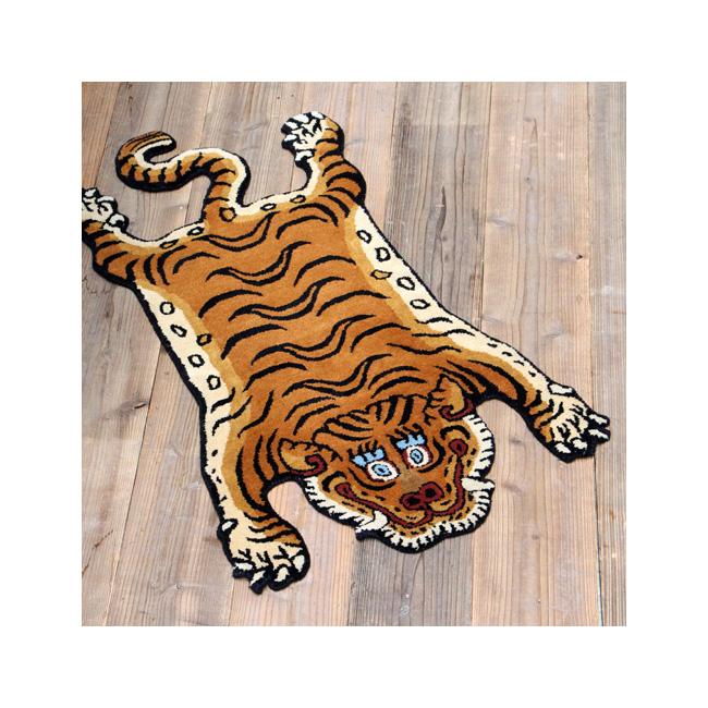 【月間優良ショップ受賞】DETAIL ディティール Tibetan Tiger Rug DTTR-01 Large チベタンタイガーラグ DTTR-01/ラージ 331601L 【アウトドア/インテリア/ラグ/おしゃれ】