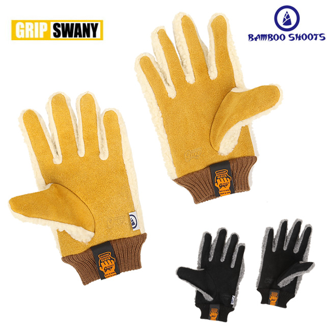 GRIP SWANY グリップスワニー GRIP SWANY × BAMBOO SHOOTS G-5 FLEECE GLOVE 1802027 【アウトドア/グローブ/手袋/防寒】