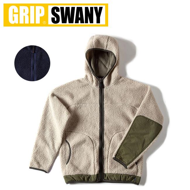 GRIP SWANY グリップスワニー FLEECE BOA PARKA フリース ボア パーカー GSC-25 【アウトドア/アウター/フード】