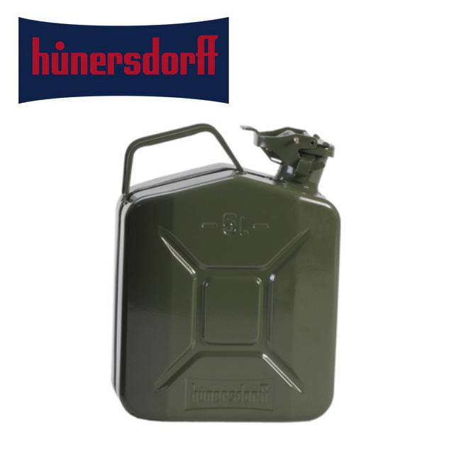 【スマホエントリでP10倍確定!12日 10時~】hunersdorff ヒューナースドルフ Metal KANISTER CLASSIC 5L メタル キャニスター クラシック 【アウトドア/タンク/給水/キャンプ/燃料タンク】