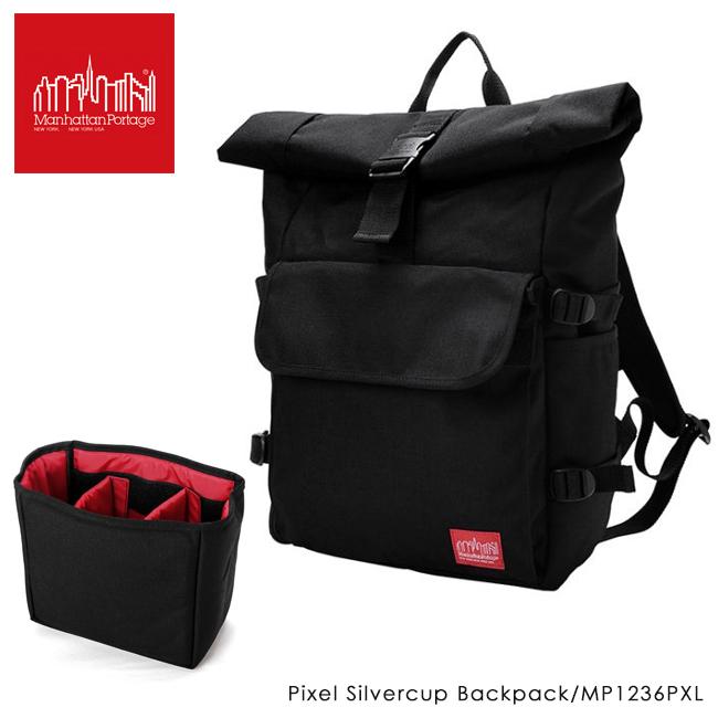 Manhattan Portage マンハッタンポーテージ Pixel Silvercup Backpack ピクセル シルバーカップ バックパック MP1236PXL 【アウトドア/リュックサック】, 穂別町:b9a35de0 --- asc.ai