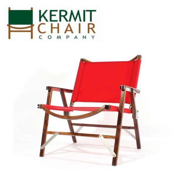 【スマホエントリでP10倍確定!12日 10時~】kermit chair カーミットチェアー Kermit Chair WALNUT RED KCC-305 【日本正規品/天然木/椅子/ウォールナット/アウトドア/インドア】
